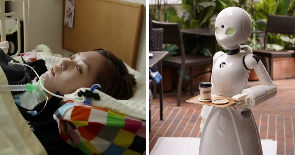 A Japanese Cafe Used State Of The Art Technology To Employ Paralyzed People As Waiters
