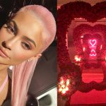 Kylie Jenner Transformed Her House Into A Valentine's Day Fairy Tale And We're Feeling The Love